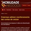 Empresas adotam monitoramento das contas de celular Mobilidade e Negócios - Sumus