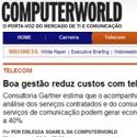 Boa gestão reduz custos com Telecom Computer World - Sumus