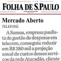 Mercado Aberto Folha de São Paulo - Sumus