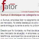 Sumus é destaque na categoria software do anuário Telecom