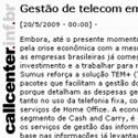 Gestão de Telecom em tempos de crise Call Center