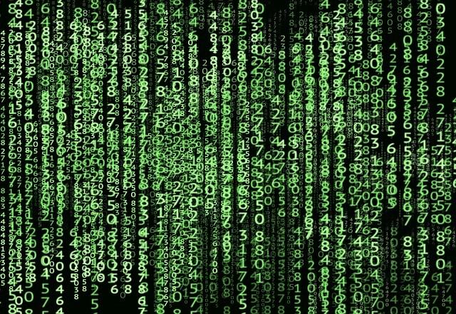 A imagem mostra uma série de códigos de programação